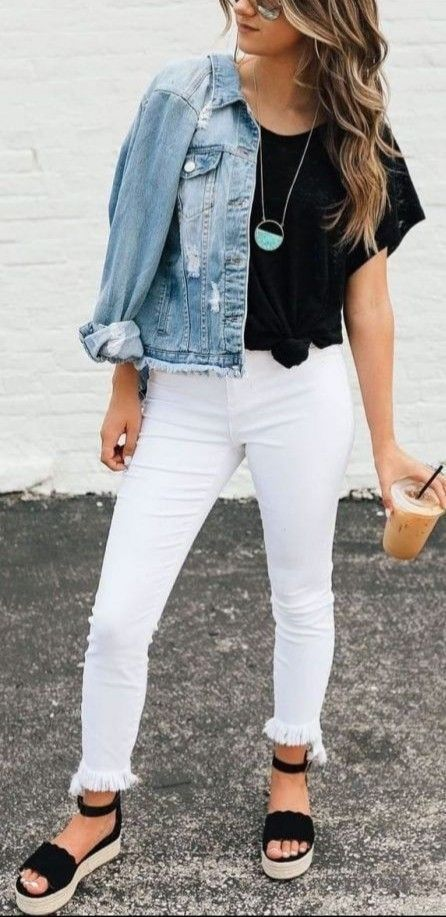 #springdress #style #outfitideas #summeroutfit #summerdress #springs - Die Besten Outfit-Ideen #jeanjacketoutfits #springdress #style #outfitideas #summeroutfit #summerdress #springs#outfits #teenager #mädchen#schule#school#spring #2019#casuales#juveniles#junge#männer#cute#fashion
