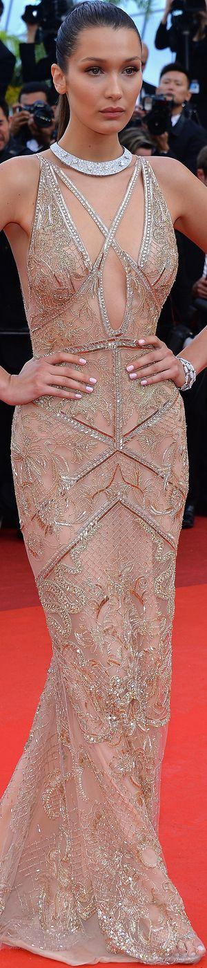 Bella Hadid in Roberto Cavalli 2016 Cannes Film Festival   LOLO❤︎