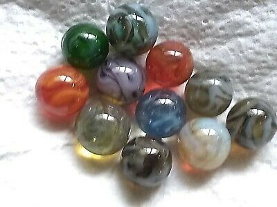 Ad 10 Furnace Champion Vintage Glass Marbles 9 16 5 8 In Size In 2020 Glass Marbles Marble Bag Marble Colors