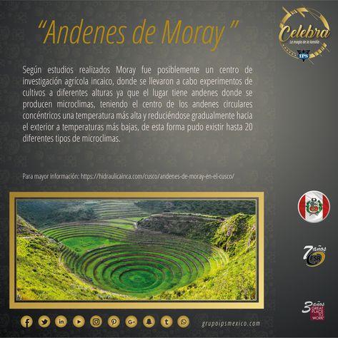 Andenes De Moray Las Terrazas Circulares De Moray Son