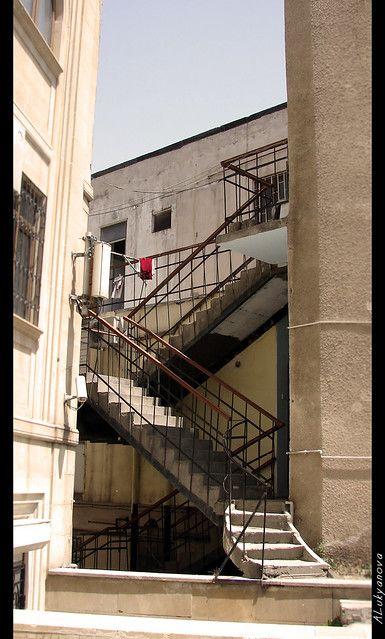 Baku Old City Stairway To Heaven Staryj Gorod V Baku Lestnica V Nebesa Stairway To Heaven Stairways Old City