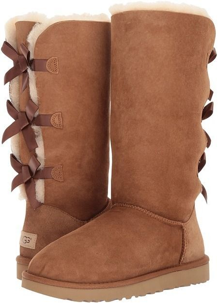 49a84d7b91c UGG - Bailey Bow Tall II Women's Boots The heights and the bows are ...