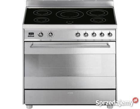 Kuchnia Indukcyjna Smeg C9cimx 5 Pol Grill 90 Cm Kolobrzeg Sprzedajemy Pl Kitchen Appliances Kitchen Oven