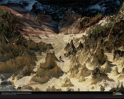 Grand Canyon del Parco nazionale di Yellowstone