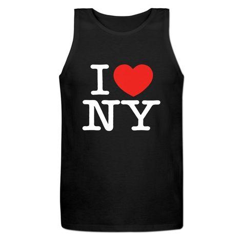 Amazon.com  I Love NY New York Tank Tops For Mens  Clothing  0f3bc20bfdd