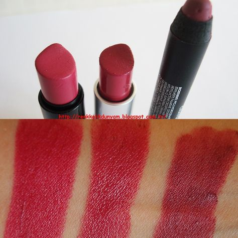 1 Sephora Rouge R12 Sexy Game 2mac Amplified Ruj Craving 3