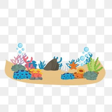 Warm Color Ocean Cartoon Underwater World Undersea Creature Lovely Warm Color Ocean Png And Vector With Transparent Background For Free Download Fish Background Flower Background Wallpaper Cartoon Starfish
