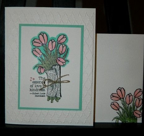 Love is Kindness, Stampin UP, Blendabilities, Blendabilities Tip