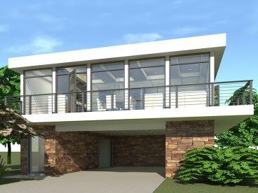 Unique Garage Plan 052g 0005 Modern House Plans Beach House Plans Carriage House Plans