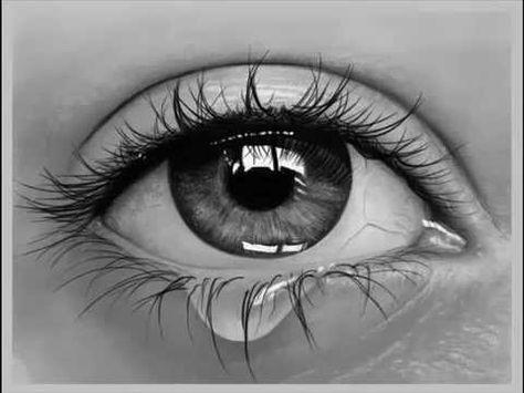 Desenho de Olho Hiper-realista - Hyper-realistic eye drawing - YouTube