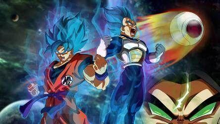 Dragon Ball Super Wallpaper Theme Dragon Ball Super Broly Hd