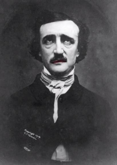 Edgar Allen Poe Magic Portrait! This awesome video is a great way to make the famous poet come alive in your classroom!