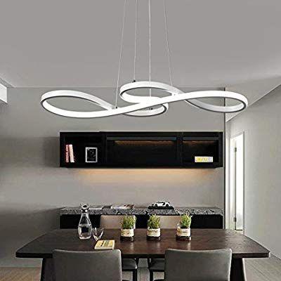 Lampadari Da Salone Moderni.Lampada A Sospensione A Led Da 60 W Design Moderno Illuminazione