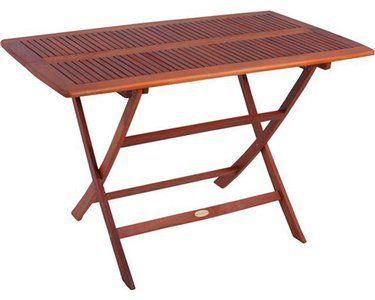 Klapptisch Orlando Rechteckig 120 Cm X 70 Cm In 2020 Gartentisch Gartentisch Holz Klappbar Wandtisch