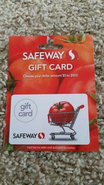 100 Safeway Gift Card Free Shipping 29 Bids Walmart Gift Cards Gift Card Hollister Gifts
