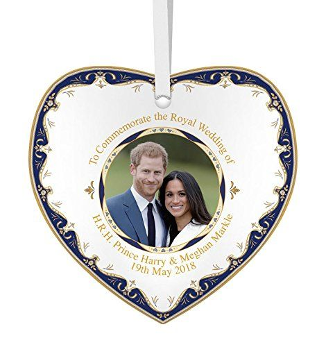 Prince Harry /& Meghan Markle Royal Wedding 19th May 2018 Commemorative Fine China 6//15cm Plate H.R.H