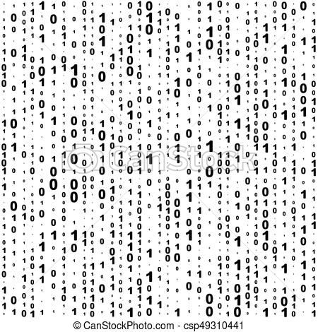 Seamless Binary Code Background Vector Stock Illustration Royalty Free Illustrations Stock Clip Art Icon Stock C Binary Code Art Icon Graphic Illustration