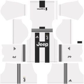 b95ba4438 F.C. Juventus 2018-19 Dream League Soccer Kits 512x512 URL ...