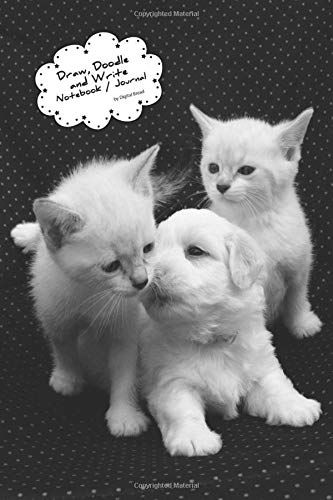 Draw Doodle And Write Noteboook Journal Puppy Kitten Ki Https Www Amazon Com Dp 1728742684 Ref Cm Sw R Pi Dp U X Ykoybbet660zb Doodles Drawings Kittens