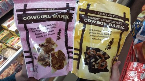 Trader Joes cowboy cowgirl bark. Sperate but not equal…his is rugged. Love your blog.