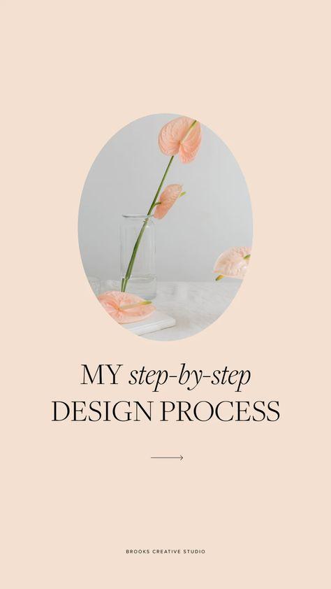My Step-by-Step Design Process