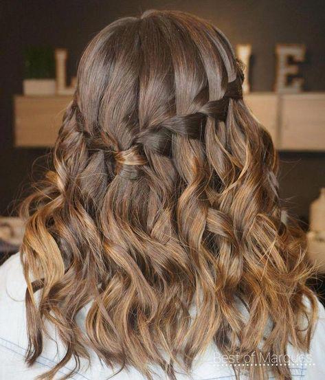28 Cute Hairstyles for Medium Length Hair (Popular for 2019) #Cute #Hair #Hairstyles #Length #Medium #PoPular #hairbraids