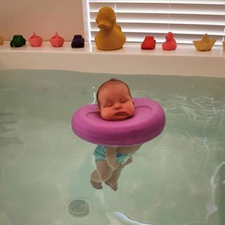 Babies Babies Instagram Photos And Videos Baby Spa Baby Swimming Baby Float