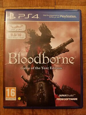 Bloodborne Game Of The Year Edition Sony Playstation 4 2015 Ps4 Gaming Video With Images Bloodborne Game Sony Playstation Playstation