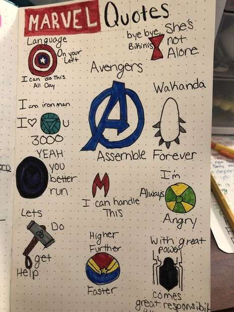 Marvel quotes