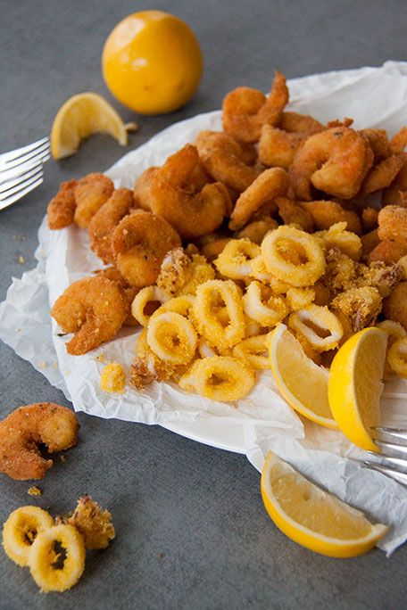 213 best italian canadian life images on pinterest italian foods recipe for simple fritto misto di mare from the blog an italian canadian life forumfinder Images