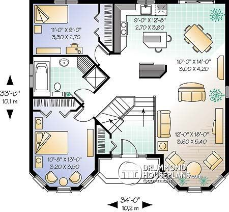 Modern House Plans Canada Square House Plans Modern House Plans House Plans Open concept house plans canada