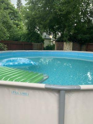 Summer Escapes 14 X 36 Quick Set Pool At Big Lots Sku S 810151863 Summer Waves Pool Swimming Pools