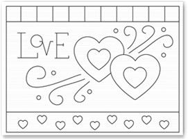 Valentine Coloring Pages, Valentines Day Coloring Pages, Hearts Coloring Pages
