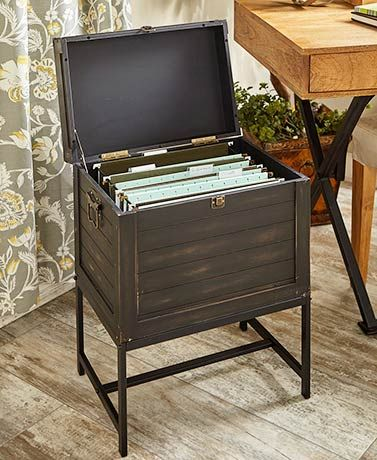 Trunk Style File Storage Cabinets Filing Cabinet Storage Home