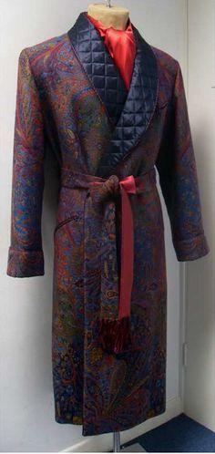 New & Lingwood Men's dressing gown | Gentlemen's Accessories ... : mens quilted dressing gown - Adamdwight.com