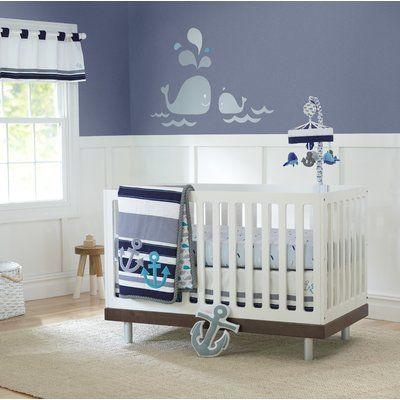 Nautical Baby Room Nursery Crib, Sailboat Baby Bedding Set