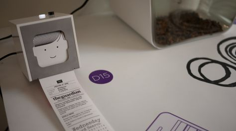 Berg Cloud's Little Printer is a mini-printing device that generates customizable, receipt-sized newspapers, bringing news and content from web and social sources. Use your smartphone to set up subscriptions and Little Printer will gather them together to create a timely, beautiful miniature newspaper.