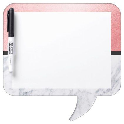 Rose Gold Marble Classic Square Speech Bubble Dry Erase Board Zazzle Com Rose Gold Marble Marble Iphone Wallpaper Dry Erase