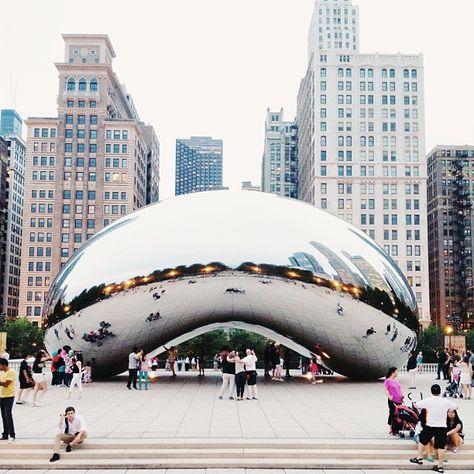 The Bean.@Yewon Youm Youm Kim   #chicago #vsco #vscocam
