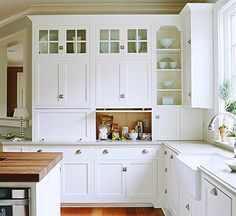 Image Result For Upper Cabinets That Sit On Counter Kitchen