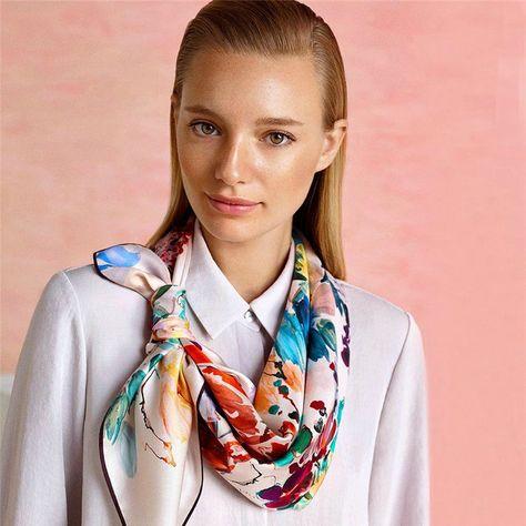 Aker Divya Silk Scarf - Beautiful Hijab Styles