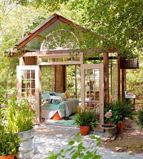 favbricant veranda en bois clair pour le jardin, veranda ...