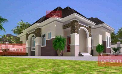 Fantastic 3 Bedroom Bungalow Design In Nigeria 99 In Home Decor Arrangement Ideas With 3 Bedroom Bung Bungalow Floor Plans Bungalow House Plans Bungalow Design