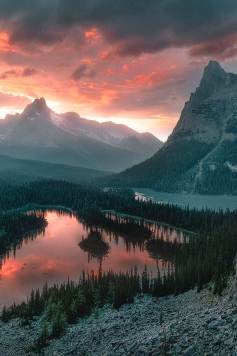 18 Best Places In Canada To Visit - Lake Ohara, British Columbia