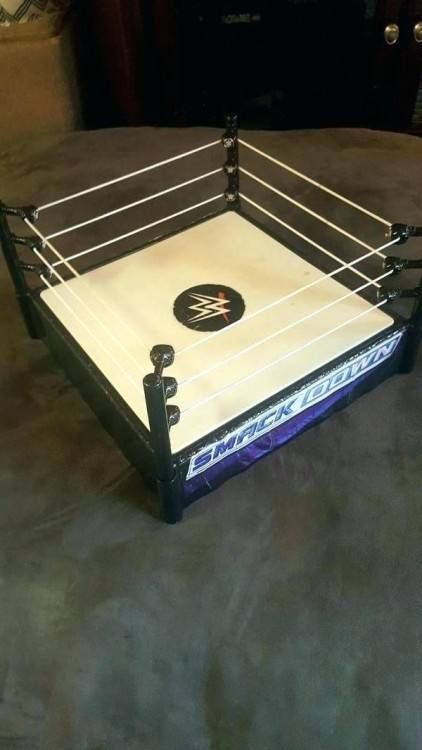 Brand New Wwe Wrestling Bedroom Rug