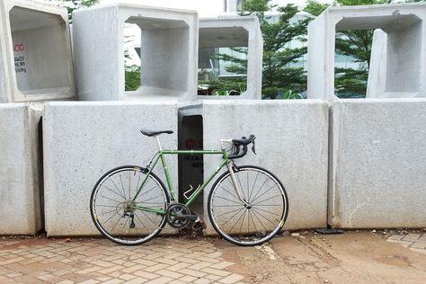 Cherubim V Racer Green Pedal Room Cherub Bike Green