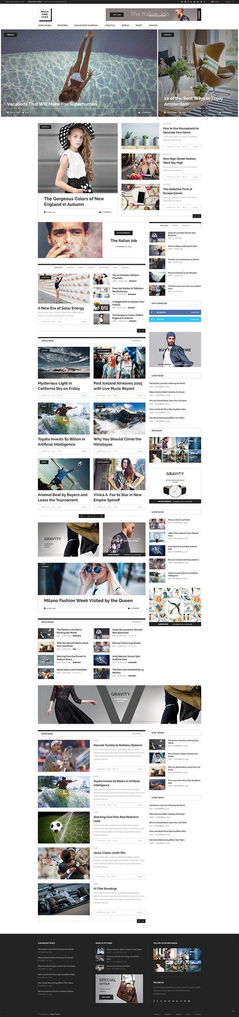Magazine Vibe – Magazine Theme