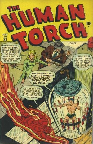 Human Torch Comics Vol 1 31 | Marvel Database | FANDOM