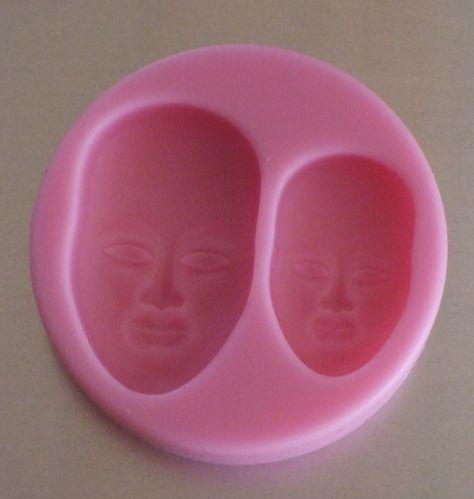 Silicone mold face