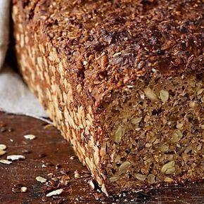 Einfaches Vollkornbrot - Mehr vegane Rezepte unter: www.diet-health.info - Für deutsche Rezepte @diethealthde folgen - follow for more vegan inspiration @infoen7895